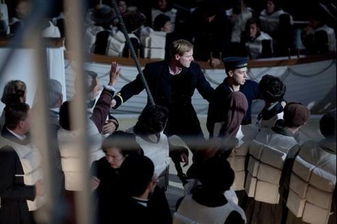 Pour le centenaire du naufrage du Titanic, le 15 avril, deux séries seront proposées par les chaînes britanniques, l'une produite par ITV (notre photo) et l'autre par la BBC.