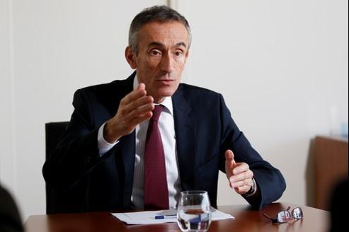 Jean-Ludovic Silicani, président de l'Arcep, le 21 mars à Paris.