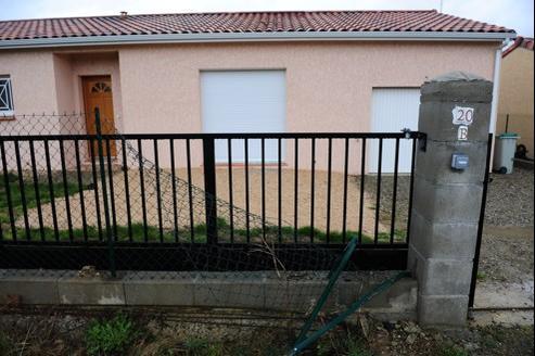 Le pavillon d'Abdelkader Merah, frère de Mohamed Merah, près de Toulouse.