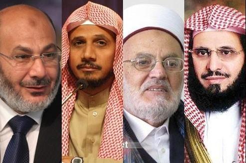 Safwat al-Hijazi, Abdallah Basfar, Ayed Ben Abdallah al-Qarni, Akrima Sabri.