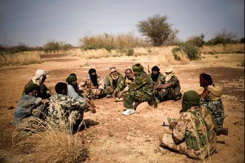 Rebelles touaregs au Mali.