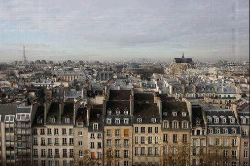 À Paris, les notaires estiment que la tendance attendue «serait au mieux une stabilité sur les bonnes adresses». Crédit: Jean-Christophe Marmara/Le Figaro