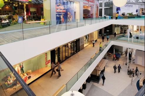 Unibail d poussi re le centre commercial lyon - Centre commercial les portes de taverny ...