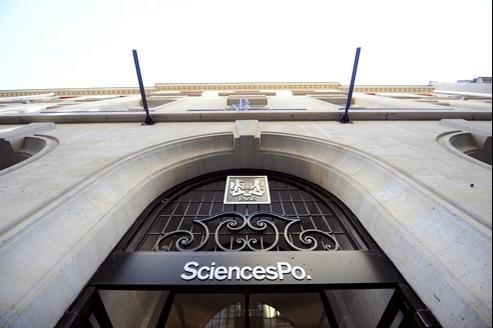 L'entrée de Sciences Po