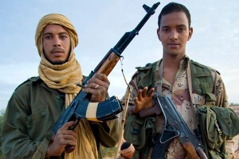 Des rebelles touaregs du MNLA en mars dans le nord du Mali.