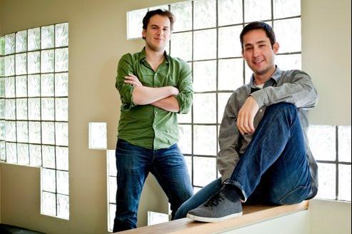 Mike Krieger et Kevin Systrom, fondateurs d'Instagram.