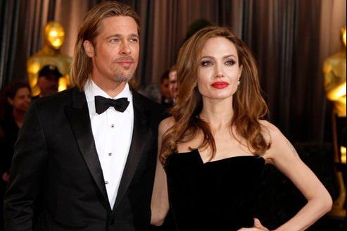 Angelina Jolie et Brad Pitt se sont rencontrés sur le tournage de Mr & Mrs Smith en 2005.