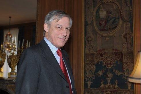 Christian Noyer, gouverneur de la Banque de France, vendredi, lors de la présentation des résultats de l'institution.