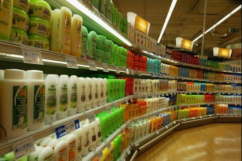 Le shampoing Dop véhicule des valeurs de gauche quand les Français place sa maison mère L'Oréal parmi les marques de droite.Crédit photo: François Bouchon