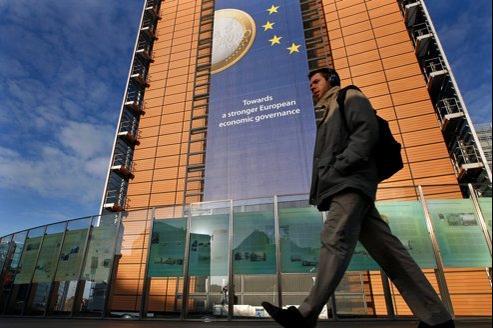 Siège de la Commission européenne à Bruxelles.