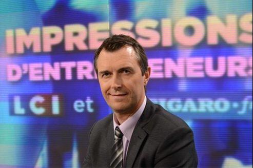 Guénaël Rio, gérant d'Atoocall.