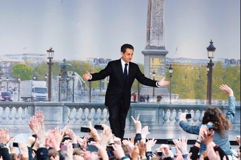 Dimanche, devant des milliers de partisans réunis place de la Concorde, Nicolas Sarkozy a présenté sa vision de la France de demain.