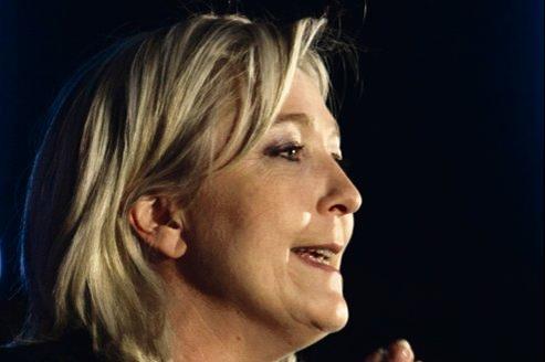 Dimanche prochain, la barre des 15% des voix sera particulièrement symbolique pour Marine Le Pen.