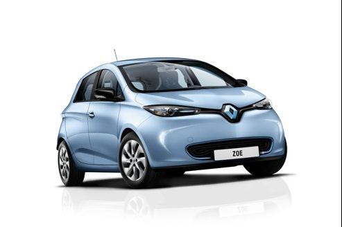 La Zoe, petite citadine électrique de Renault.