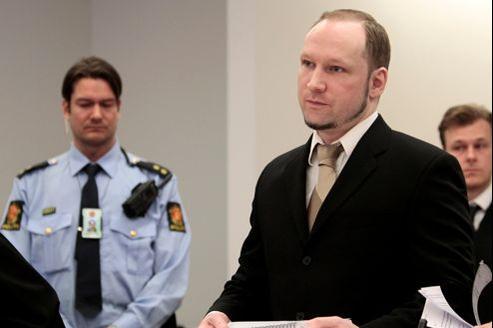 Anders Behring Breivik s'est exprimé ce mardi devant le tribunal d'Oslo.