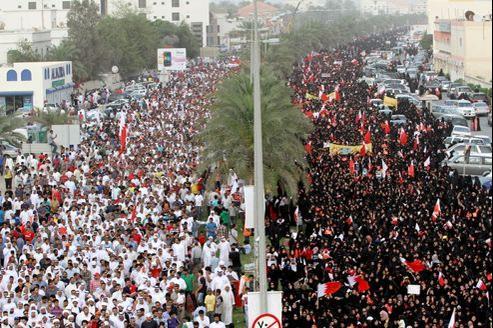 Les bolides de F1 ne sont pas les bienvenus dans un royaume où les dirigeants refusent, depuis un an, d'accéder aux doléances des manifestants.