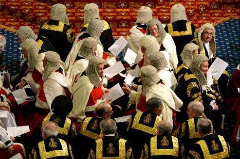 La Chambre des lords est la seule Chambre parlementaire non élue du monde démocratique.