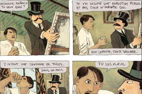 «Pablo» (tome I, Max Jacob),de Julie Birmant et Clément Oubrerie.