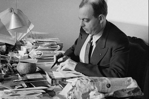 Antoine de Saint-Exupéry, disparu en 1944 lors d'une mission de reconnaissance pendant la Seconde Guerre mondiale.