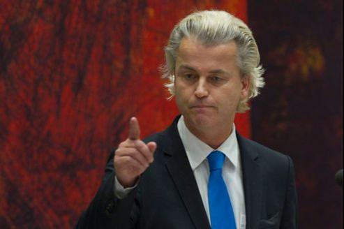 Geert Wilders, fondateur du Parti de la liberté, grand vainqueur des élections législatives anticipées de juin 2010 aux Pays-Bas