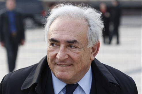 Dominique Strauss-Kahn, le 4 avril.