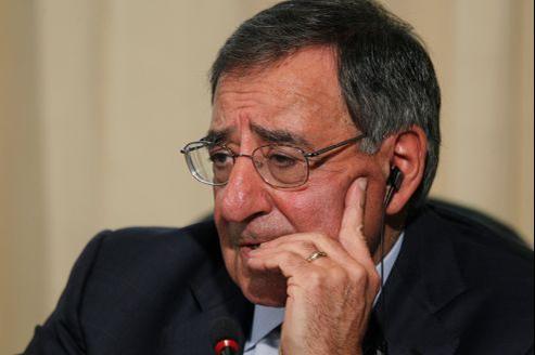 Le secrétaire américain à la Défense Leon Panetta
