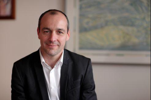 Laurent Berger, futur secrétaire général de la CFDT, le 6 avril dernier, à Paris
