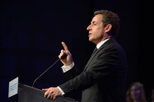 Nicolas Sarkozy a dit avoir «honte pour l'AFP d'avoir fait une alerte sur un document faux».