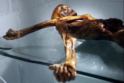 Le corps momifié d'Ötzi a été découvert en 1991 dans un glacier alpin.
