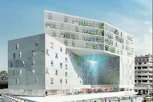 Au programme, 1700logements dont un tiers de HLM, un parc de 1,3ha, 50.000m² de bureaux et de commerces.