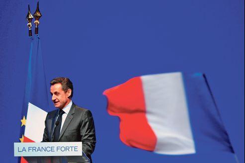 Nicolas Sarkozy a tenu jeudi à Toulon son dernier meeting de campagne.