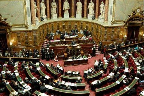 Le Sénat. (Crédits photo: Jean-Christophe MARMARA / Le Figaro)
