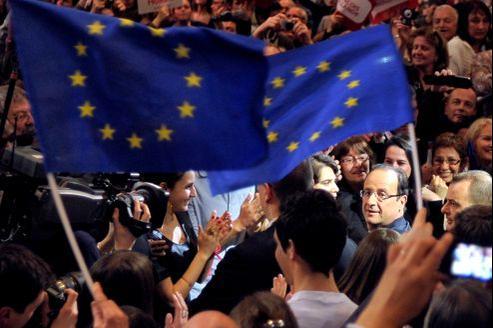 François Hollande a été élu président de la République française avec 51,62% des voix.
