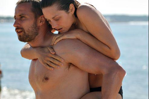 Matthias Schoenaerts et Marion Cotillard dans De rouille et d'os, de Jacques Audiard.
