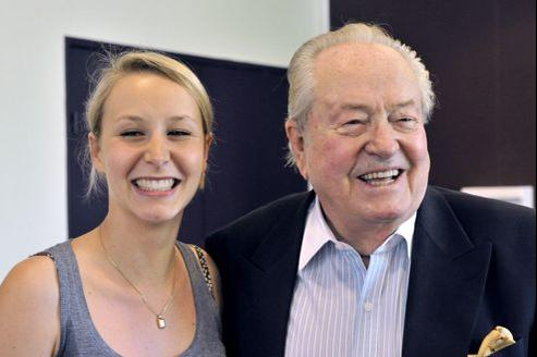 Jean-Marie Le Pen lance la campagne de sa petite-fille