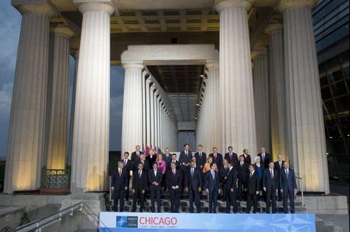 Le sommet de l'Otan s'est ouvert dimanche à Chicago.
