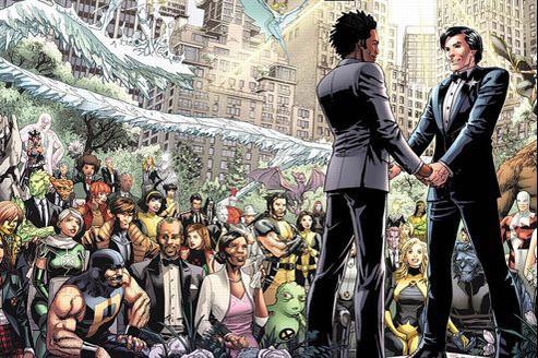 Marvel : mariage homosexuel chez les super-héros de X-Men