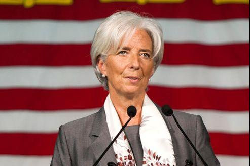 La directrice générale du FMI s'est montrée sévère sur la responsabilité des Grecs concernant leurs difficultés.
