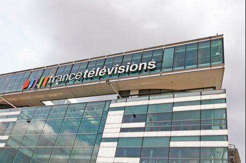 Siège de France Télévisions, à Paris. L'écran publicitaire de 20h35 devrait être rétabli pour les chaînes France2, France3 et France4.