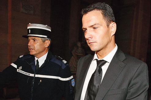 Jérôme Kerviel au Palais de justice de Paris, en octobre 2010, lors de son premier procès.