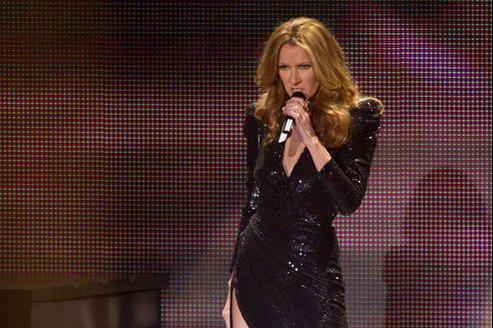 Celine Dion lors d'un concert au Caesars Palace de Las Vegas, le 15 mars 2011.