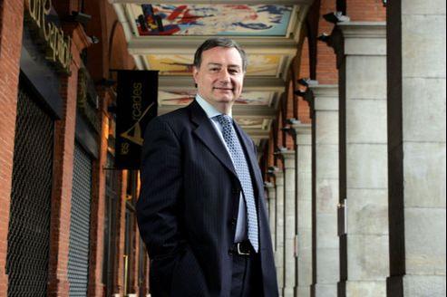 Jean-Luc Moudenc, ancien maire de Toulouse, a obtenu 35% des voix aun premier tour des législatives.