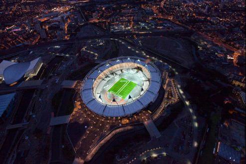 Le stade olympique à Londres.