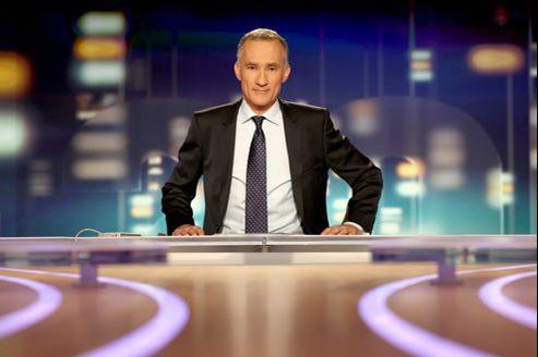 Le nouveau présentateur du «20 heures» de TF1, Gilles Bouleau.