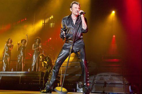 Johnny en concert à Montpellier en mai dernier.
