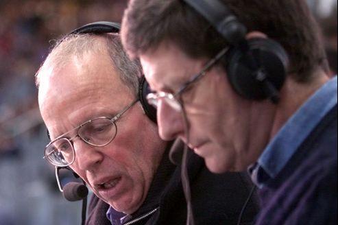Avec son complice Jean-Michel Larqué, Thierry Roland a marqué l'histoire du football à la télévision.
