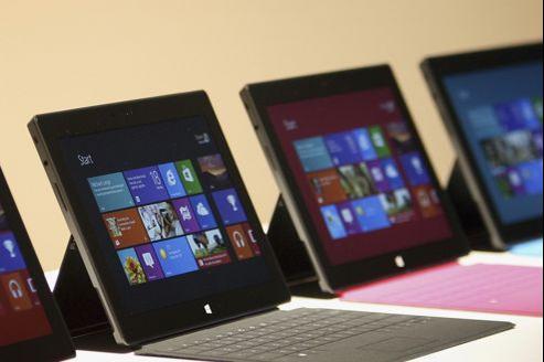 La tablette Surface et son astucieux clavier «Touch Cover».