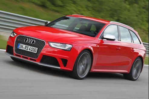 Audi RS4: le sport en Avant