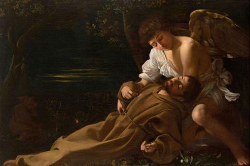 L'Extase de saint François,Caravage