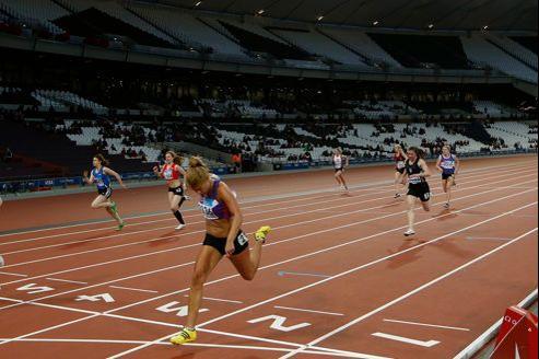 Le stade olympique de Londres où se dérouleront entre autres les épreuves d'athlétisme.